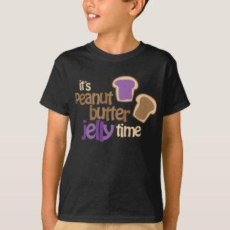 Het is De Tijd van de Gelei van de Pindakaas T Shirt