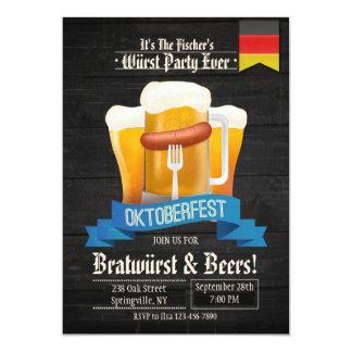 Het is de Uitnodiging van de Tijd Oktoberfest
