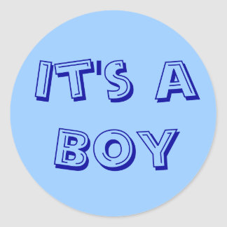 Het is de Verbindingen van een van de Jongen Ronde Stickers