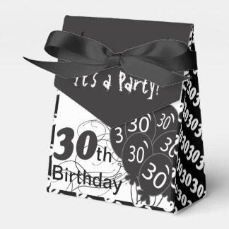 Het is een 30ste Partij van de Verjaardag Bedank Doosjes Huwelijk