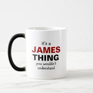 Het is een ding van James u niet zou begrijpen Magische Mok