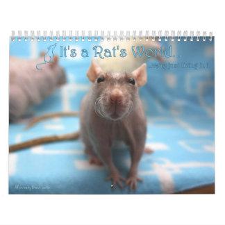 Het is een Kalender 2016 van de Wereld van de Rat