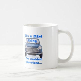 Het is een Miniding, zou u niet begrijpen Koffiemok