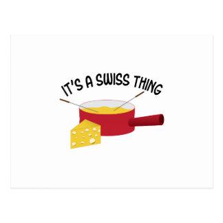 Het is een Zwitsers Ding Briefkaart