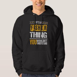 Het is Goed om de T-shirt van de VISSER te zijn