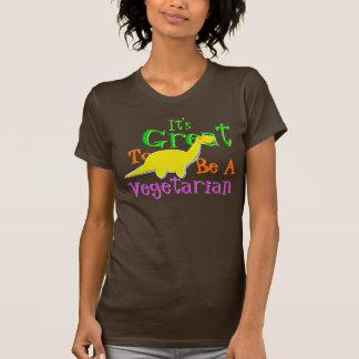 Het is Groot een Vegetariër te zijn T Shirt