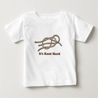 Het is Harde Knoop - de Kleding van het Baby Baby T Shirts