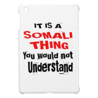 HET IS HET SOMALISCHE DESIGN VAN HET DING iPad MINI CASES