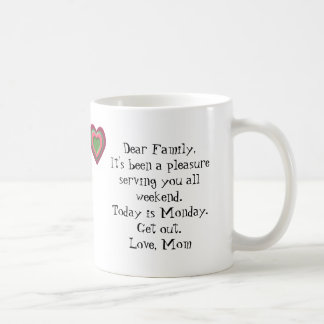 Het is Maandag… WEGGAAT! Koffiemok