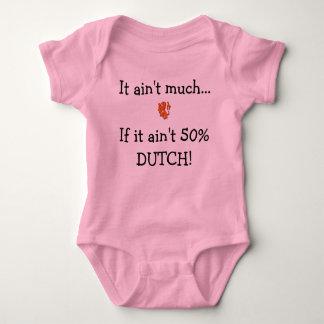 Het is niet veel als het geen 50% het Nederlands Baby Romper