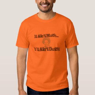 Het is niet veel als het niet Nederlands is Tshirt