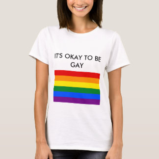 Het is o.k. om vrolijk te zijn t shirt