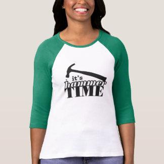 Het is Raglan van de Vrouwen van de Tijd van de T Shirt