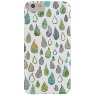 Het is regenende kleuren barely there iPhone 6 plus hoesje