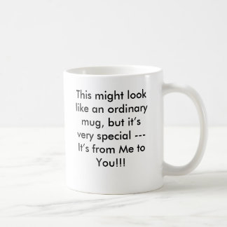 Het is van me aan u!!! koffiemok