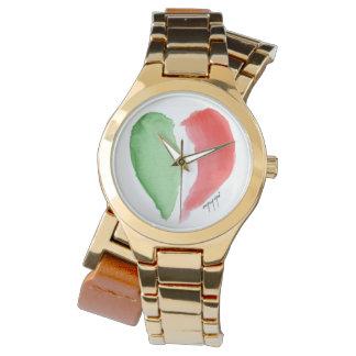 Het Italiaanse horloge van de Liefde