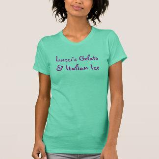 Het Italiaanse Ijs van Lucci Gelato & T Shirt