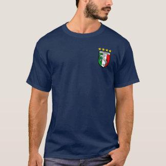 Het Italiaanse kenteken van het vlagembleem T Shirt