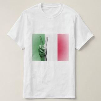 Het Italiaanse Patriottische Teken van de Vrede T Shirt