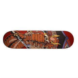 Het Japanse Dek van het Skateboard van Samoeraien