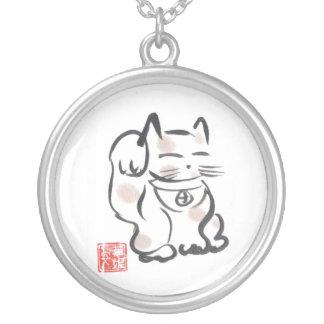 Het Japanse Gelukkige Ketting van de Kat