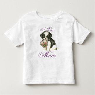 Het Japanse Mamma van het Hart van de Kin Kinder Shirts