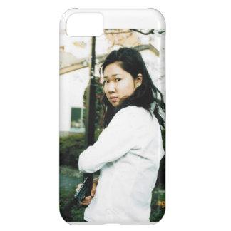 Het Japanse Meisje Iphone 5 van de Actie Geval iPhone 5C Covers