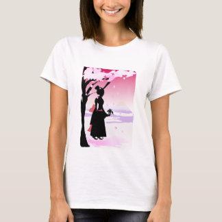 Het Japanse Meisje van de Kimono T Shirt