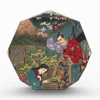 Het Japanse Mooie Art. van de Samoeraien van de Acryl Prijs
