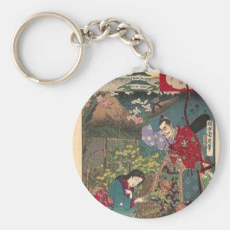 Het Japanse Mooie Art. van de Samoeraien van de Sleutelhanger