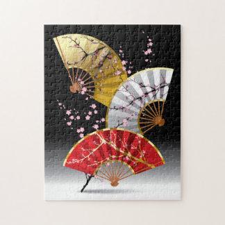 Het Japanse Raadsel van de Ventilators van de Kers Puzzel