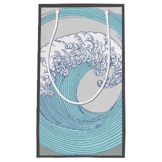 Het Japanse Strand van de Druk van de Kunst van de Klein Cadeauzakje