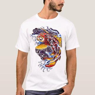 Het Japanse Tattoo van de Karper Koi T Shirt