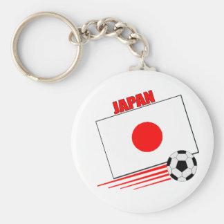 Het Japanse Team van het Voetbal Sleutelhanger