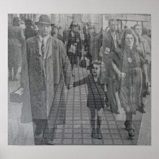 Het Joodse Gedenkteken van de Holocaust (Denkmal), Poster
