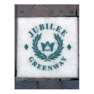 Het jubileum van de Koningin Greeway - Londen Briefkaart