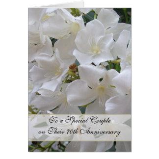Het Jubileum van het Huwelijk van de jasmijn Wenskaart
