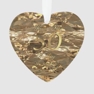 Het Jubileum vijftigste van de Gouden bruiloft van Ornament
