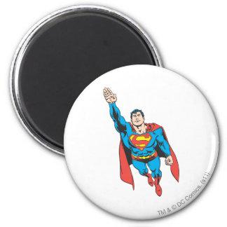 Het Juiste Opgeheven Wapen van de superman Ronde Magneet 5,7 Cm