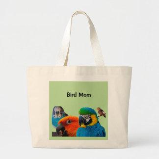 Het JumboCanvas tas van het Mamma van de vogel