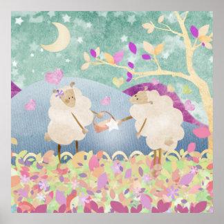 Het juweel van schapen voor Ooi - posterdruk Poster