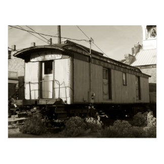 Het Kaartje van de trein en het Briefkaart van het