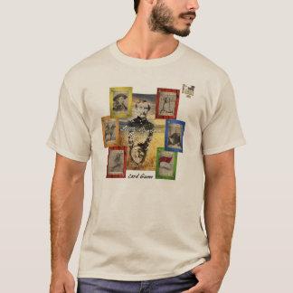 Het Kaartspel van de Rummy van het Little Bighorn T Shirt