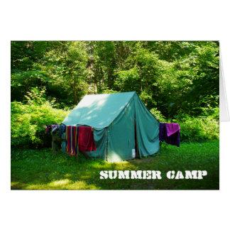 Het Kamp van de zomer Briefkaarten 0