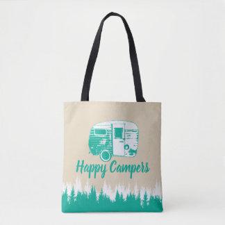 Het kamperen Rustieke Bos van de Kampeerauto's van Draagtas