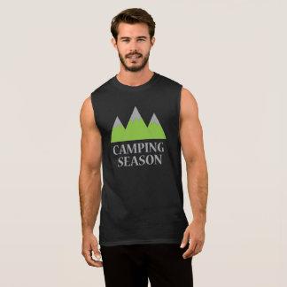 Het kamperen Seizoen T Shirt