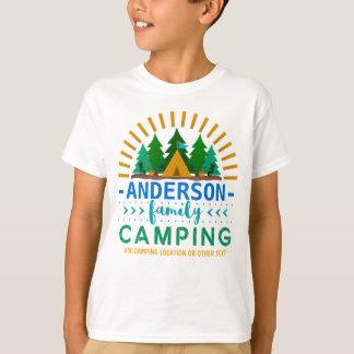 Het Kamperen van de familie de Zon Ray Tent   van T Shirt