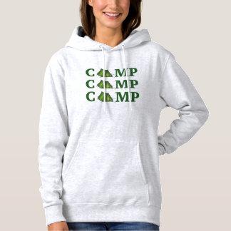 Het Kamperen van de Zomer van de Tent van het KAMP Hoodie