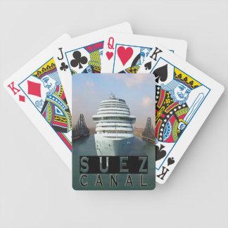 Het Kanaal van Suez Poker Kaarten