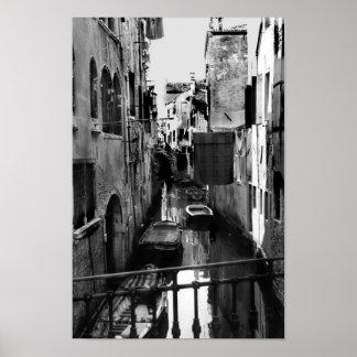 Het Kanaal van Venetië, Italië Poster